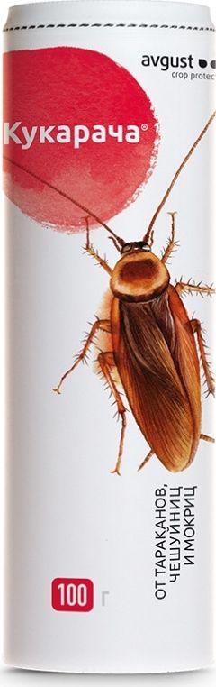Гранулы от тараканов и мокриц Avgust Кукарача, 100 г global средство от тараканов
