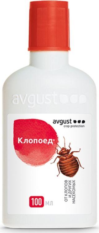 Флакон от клопов и других вредителей Avgust Клопоед, 100 мл препарат от клопов get