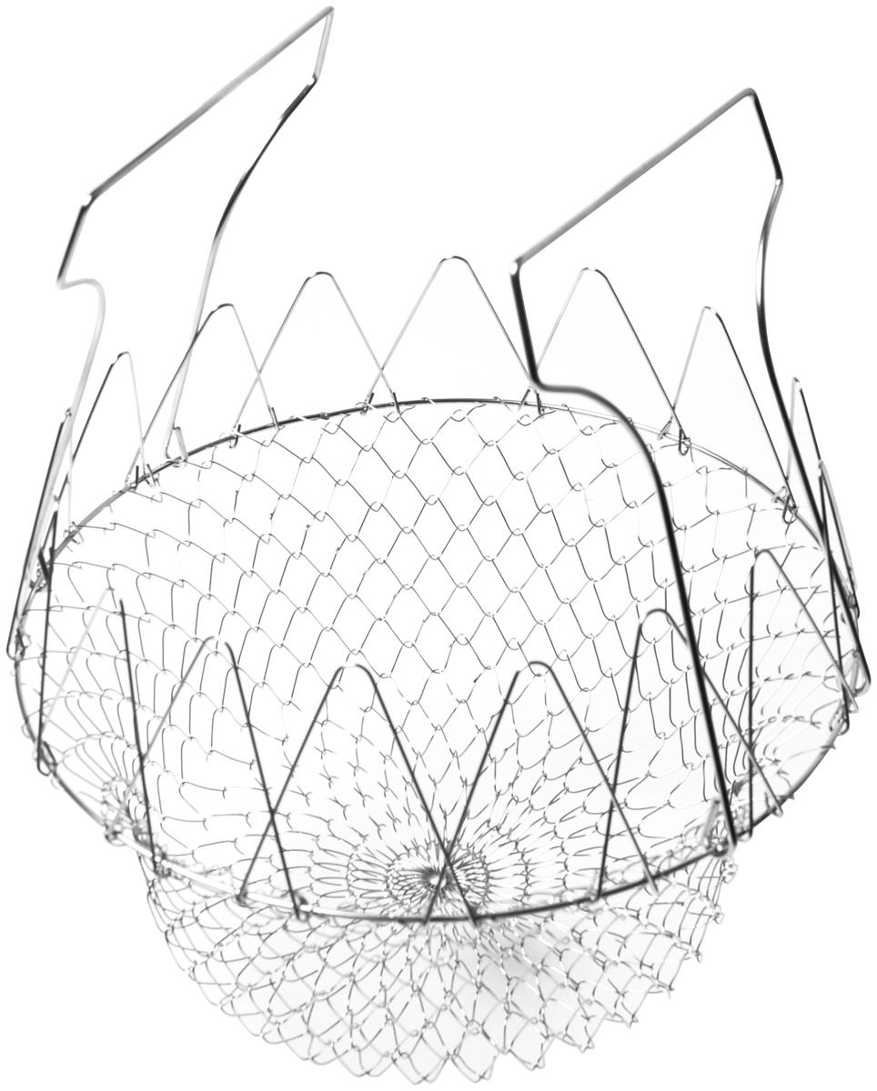 Корзина для жарки во фритюре и бланширования Fissman, диаметр 23 см корзину для жарки во фритюре