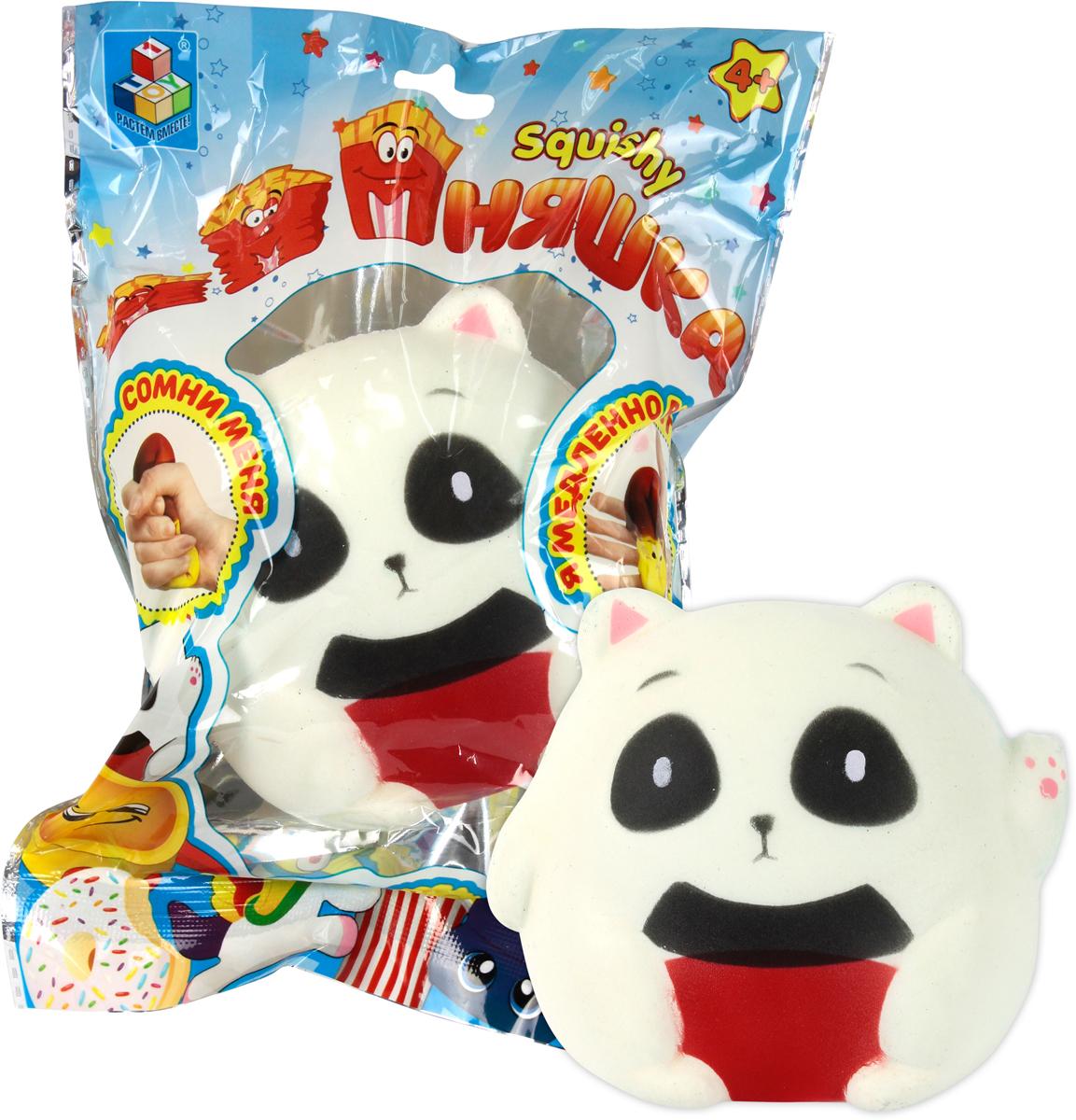 1TOY Игрушка-антистресс Мммняшка Squishy Панда сидящая цена