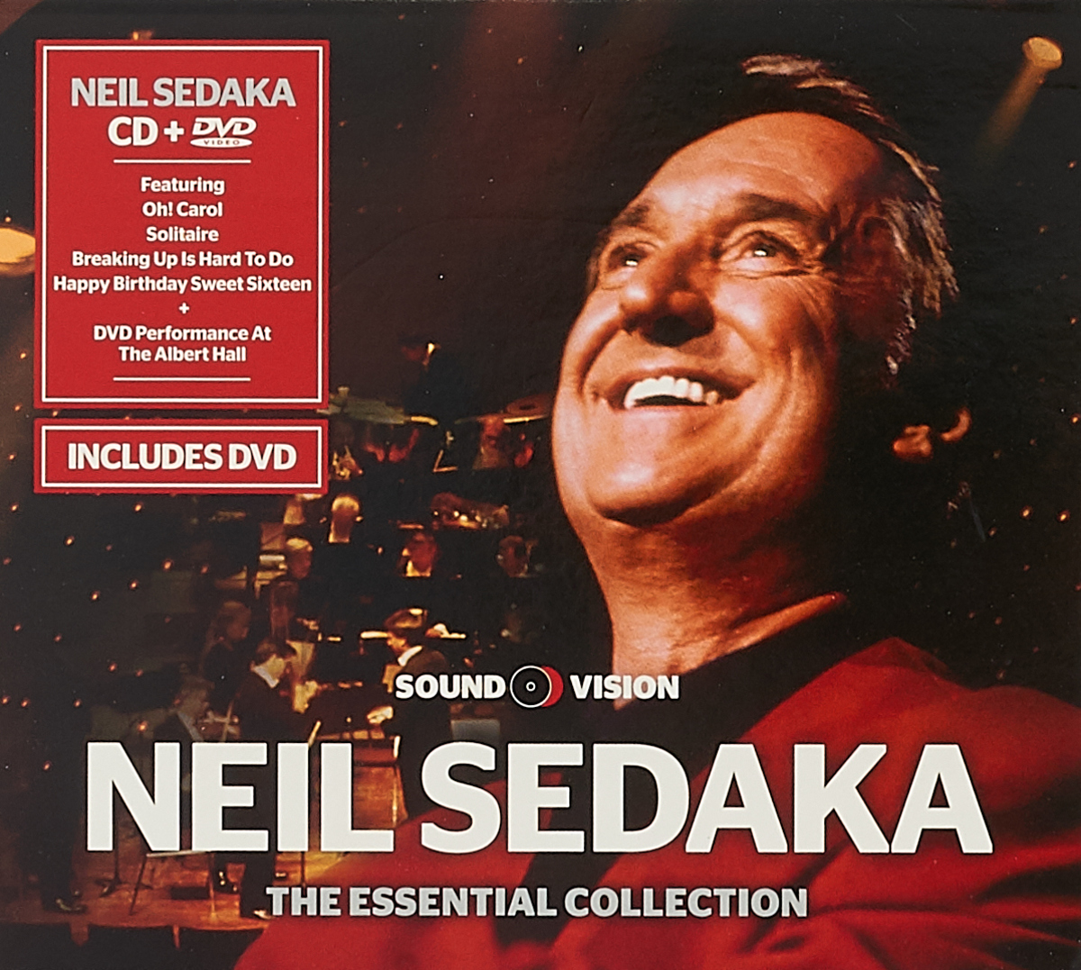 Нил Седака Neil Sedaka. Live At The Royal Albert Hall (CD + DVD) an evening with andy williams live from the royal albert hall 1978