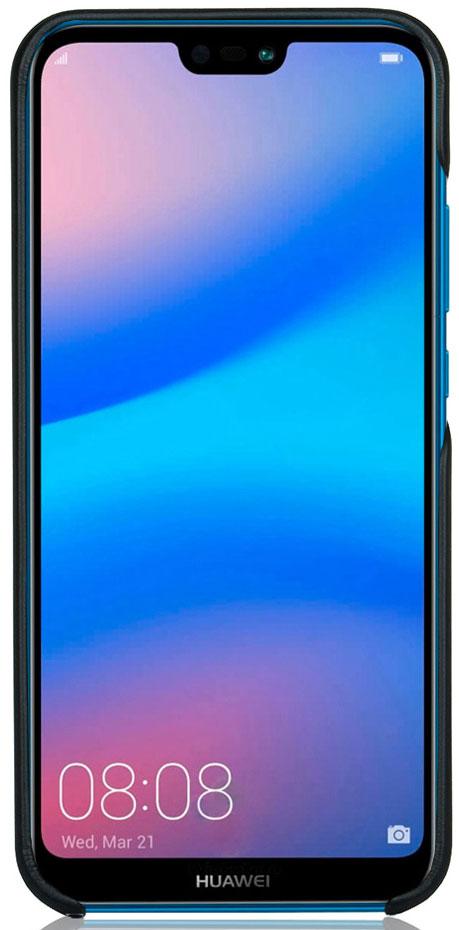 Чехол G-Case Slim Premium для Huawei P20 Lite, Black аксессуар чехол для huawei p20 lite pero soft touch turquoise prstc p20lc