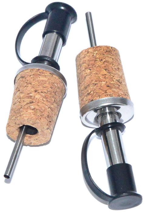 Набор гейзеров-пробок для бутылок Fissman, с дозатором, 2 шт. 8902
