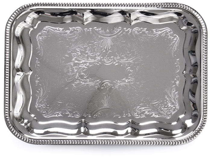 Поднос Fissman, прямоугольный, 34 x 25 см. 9419 8676 fissman овощерезка для декорирования блюд в форме точилки