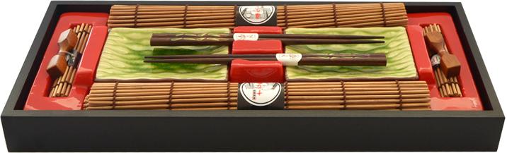 Набор для суши Fissman, на 2 персоны, 10 предметов. 9587 Уцененный товар (№1)