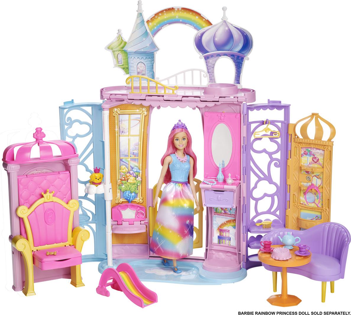 Barbie Игровой набор Переносной дворец