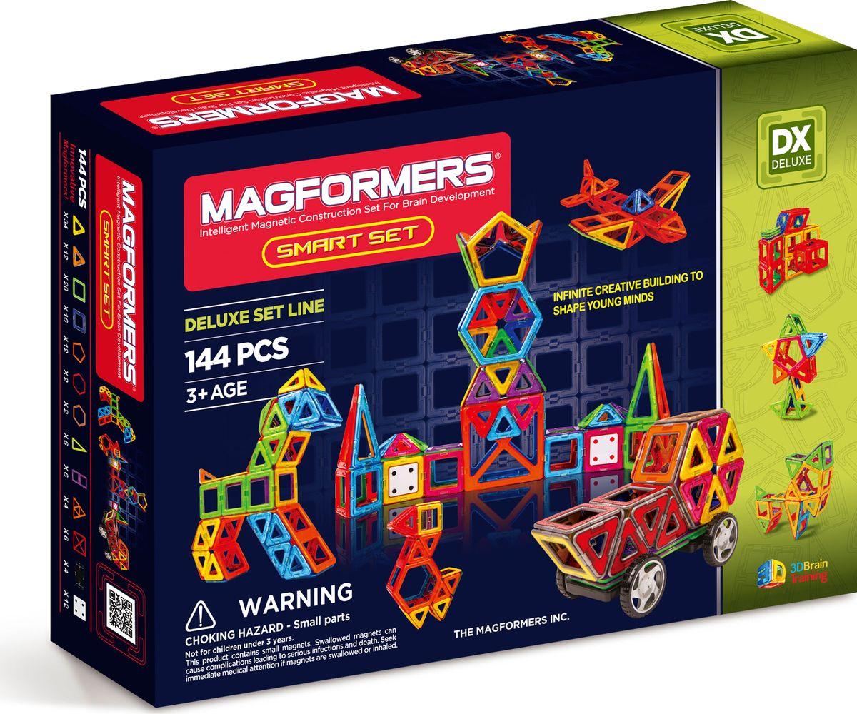 Magformers Магнитный конструктор Smart Set