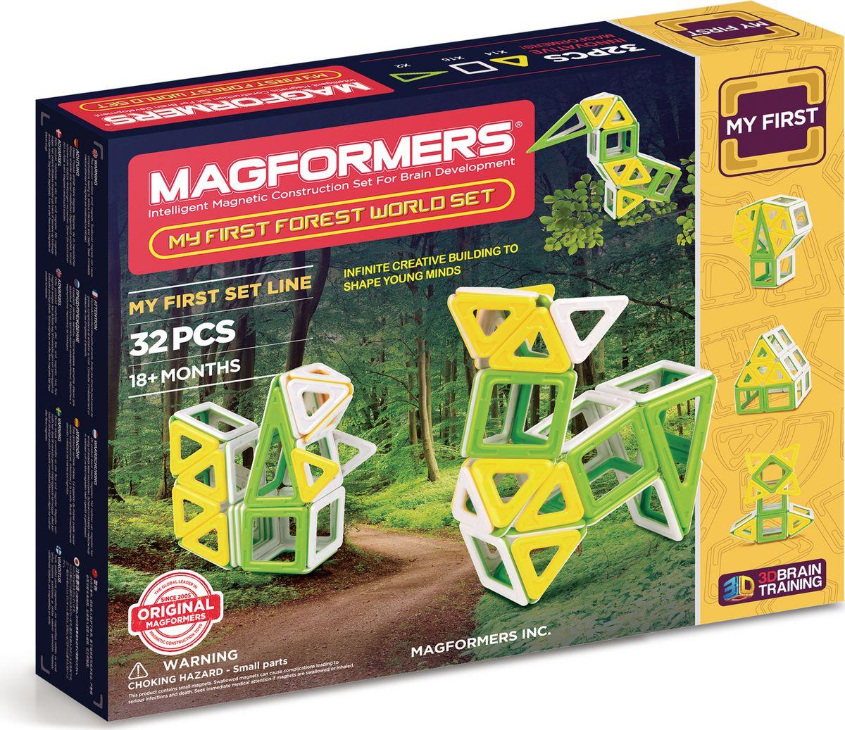 Magformers Магнитный конструктор My First Forest World Set my first world atlas