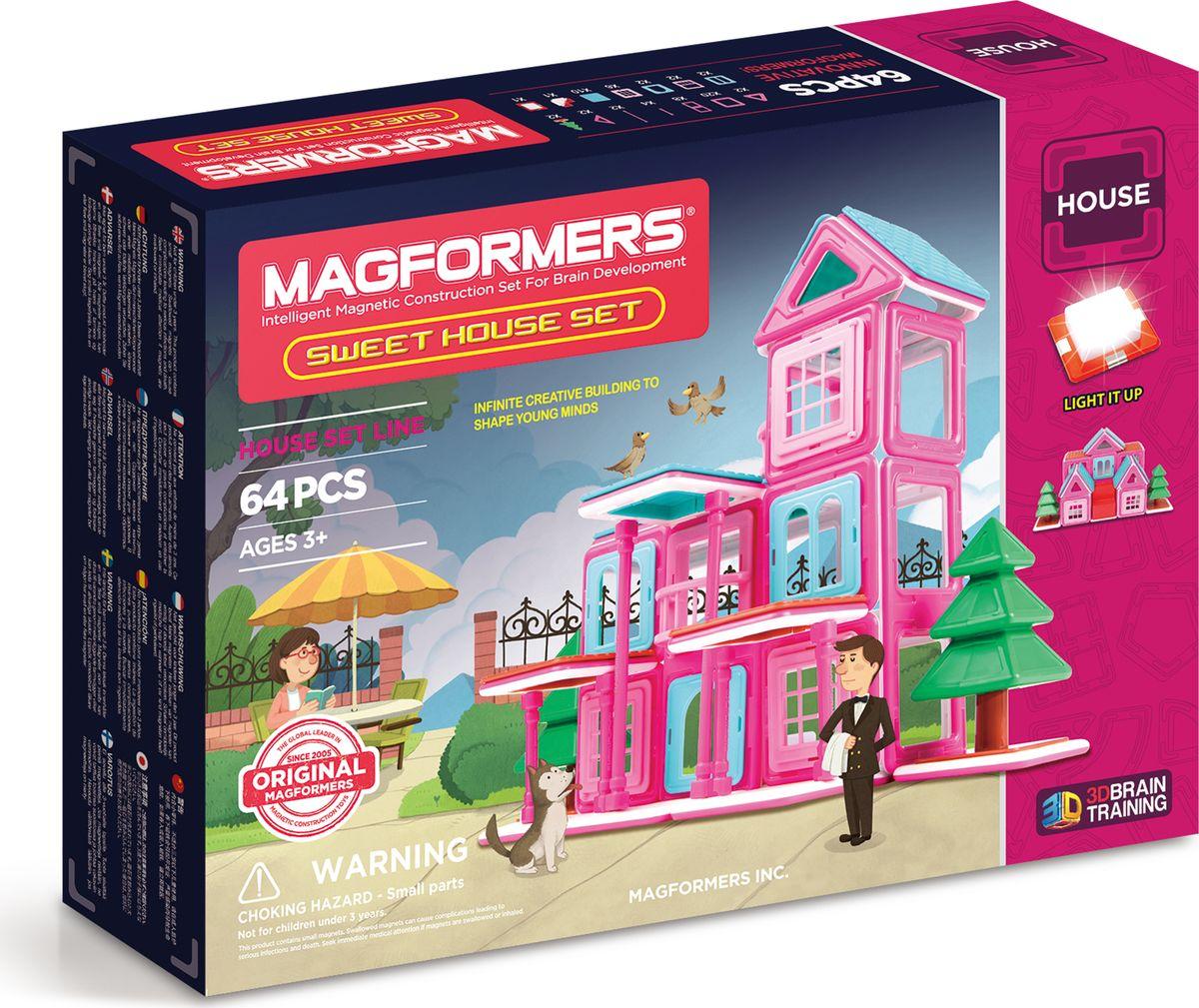 Magformers Магнитный конструктор Sweet House Set