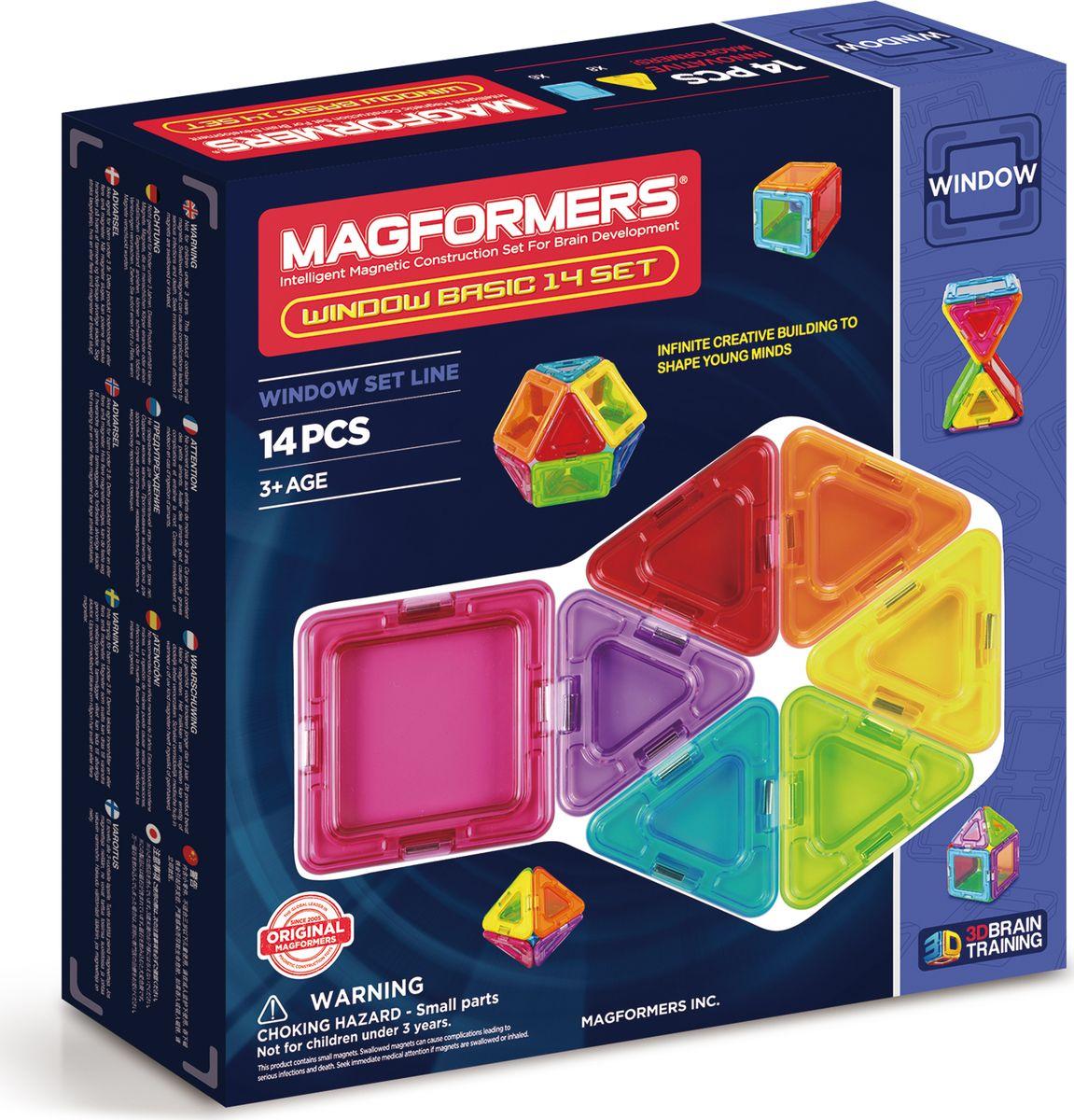 Magformers Магнитный конструктор Window Basic 14 Set