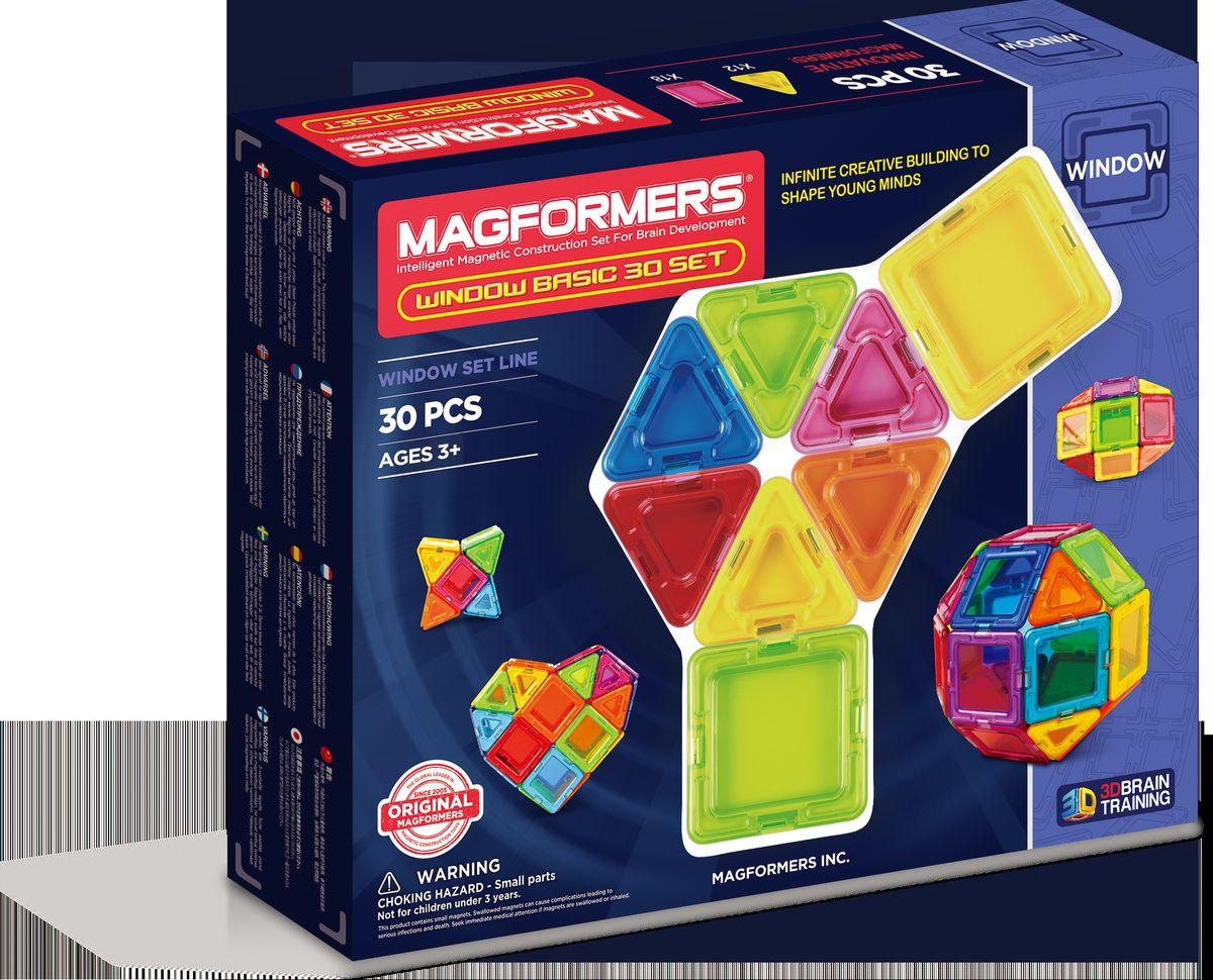 Magformers Магнитный конструктор Window Basic 30 Set