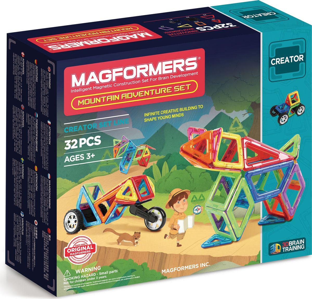 Magformers Магнитный конструктор Mountain Adventure Set цена