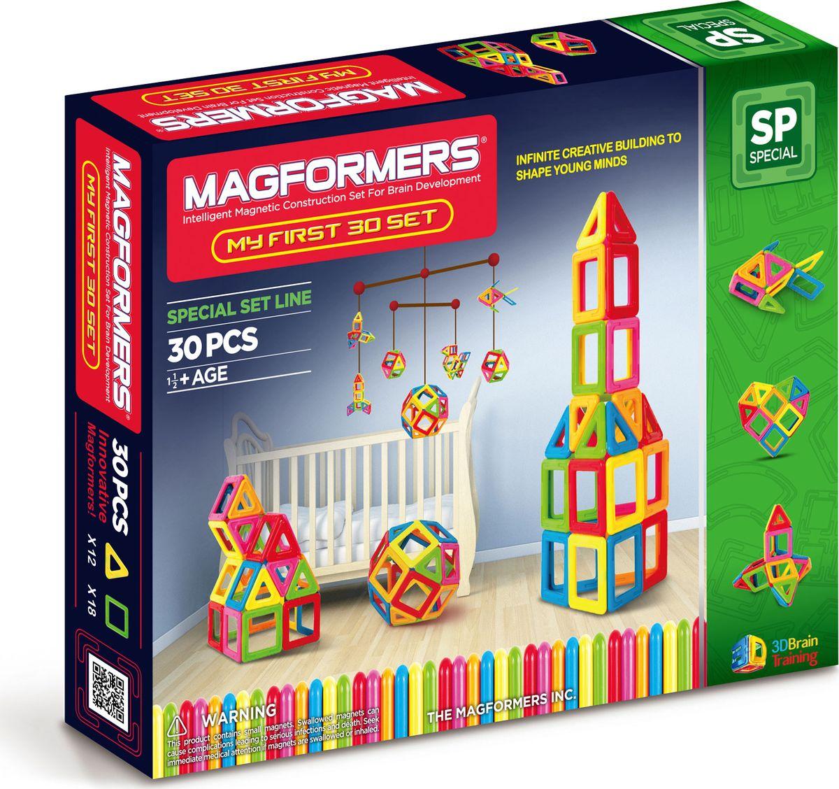 Magformers Магнитный конструктор My First 30