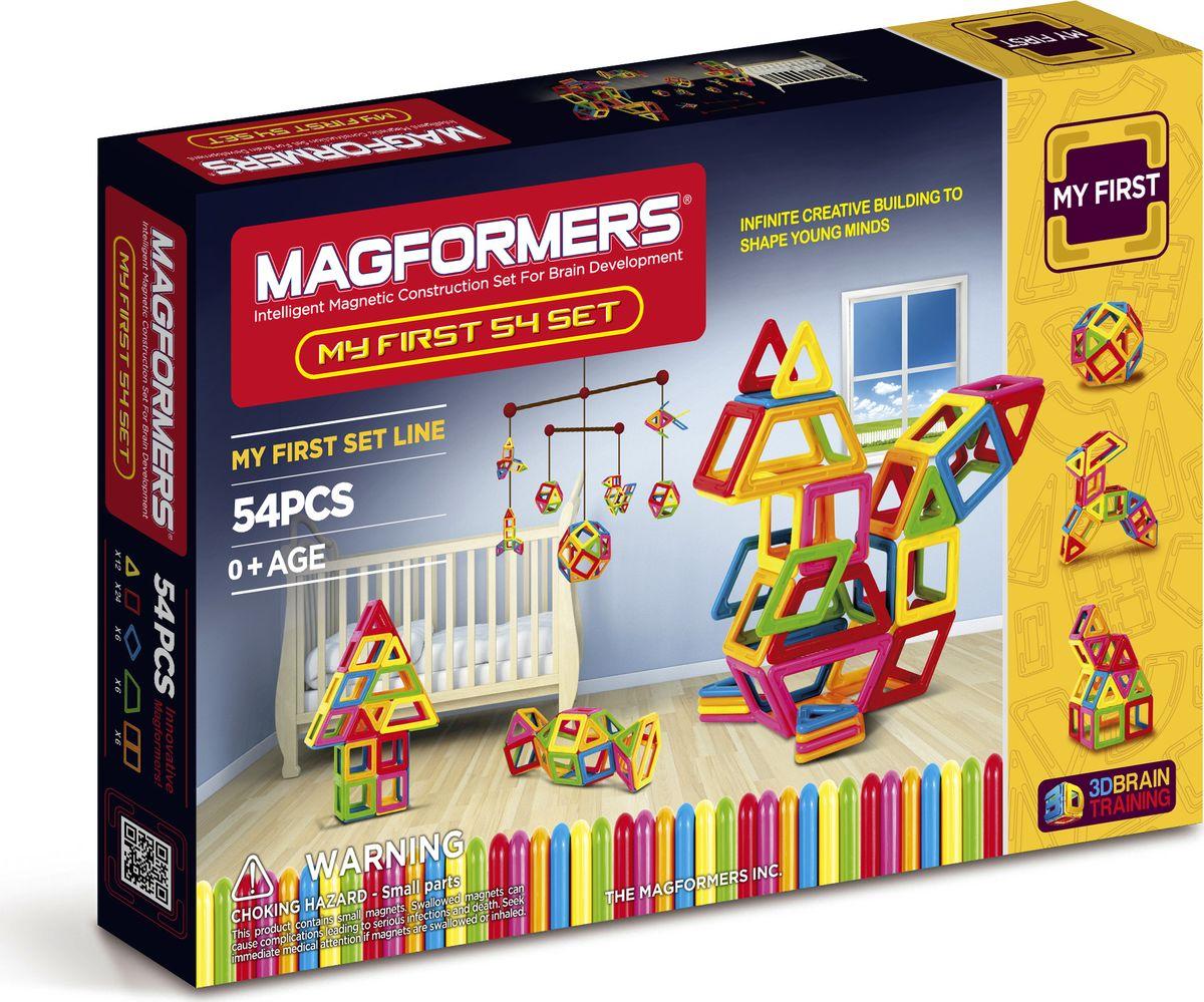 Magformers Магнитный конструктор My First 54
