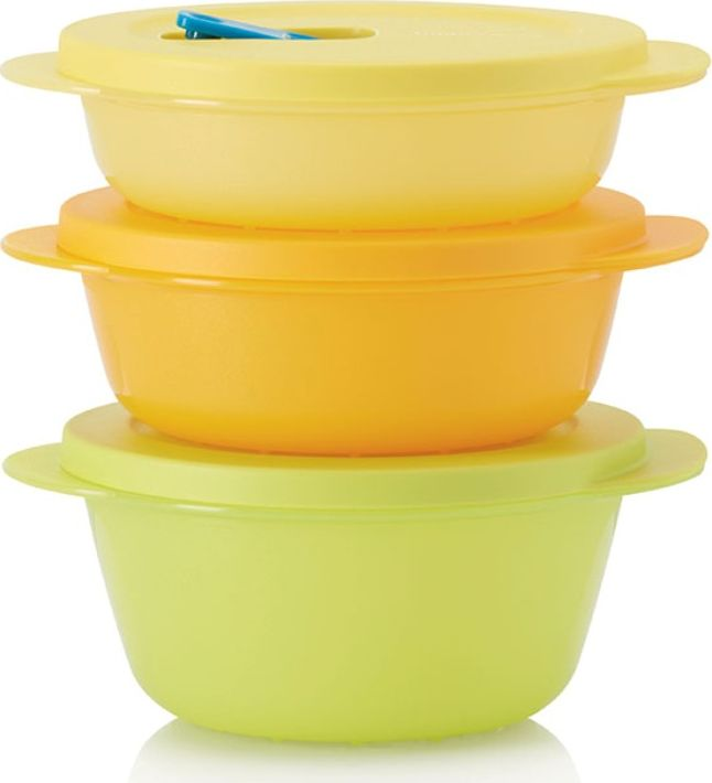 """Посуда для СВЧ Tupperware """"Новая волна"""", 400мл/600мл/800мл, Полипропилен"""