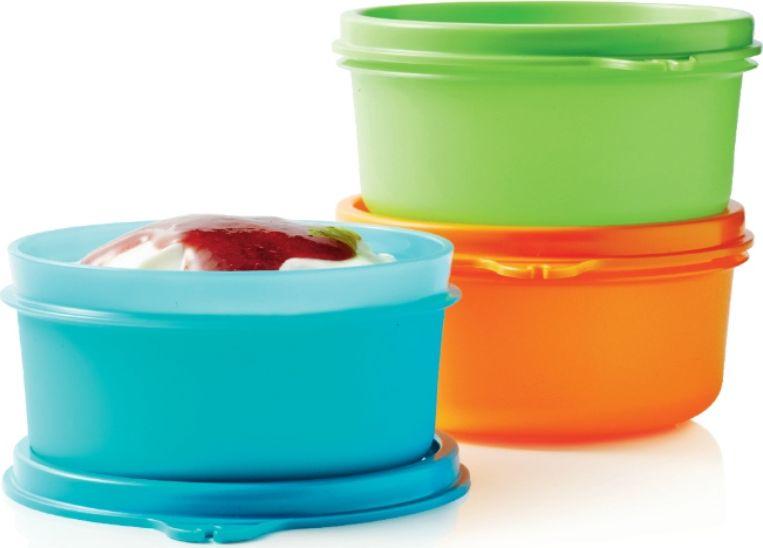 Чаша сервировочная Tupperware, 200 мл, 3 шт чаша tupperware бриллиант 500 мл