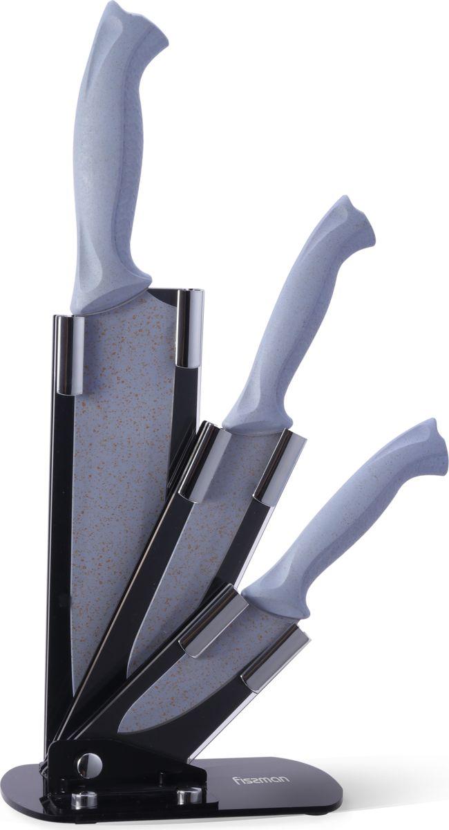 "Набор ножей Fissman ""Gobi"", на подставке, 4 предмета"