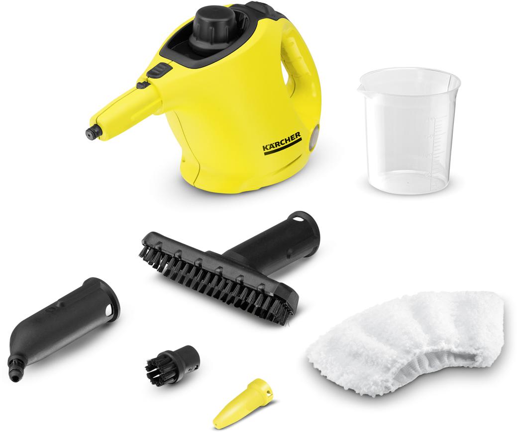 Пароочиститель Karcher SC 1, Yellow Black пароочиститель smile esc 924