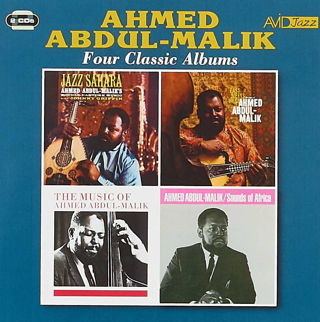 Ahmed Abdul-Malik Abdul-Malik, Ahmed. Four Classic Albums (2 CD) mahmoud ali ahmed multi tragedies novel