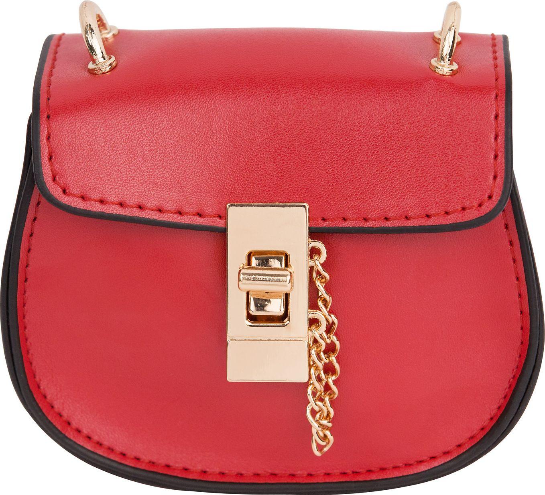 Сумка кросс-боди женская Kawaii Factory, цвет: красный. KW100-000368