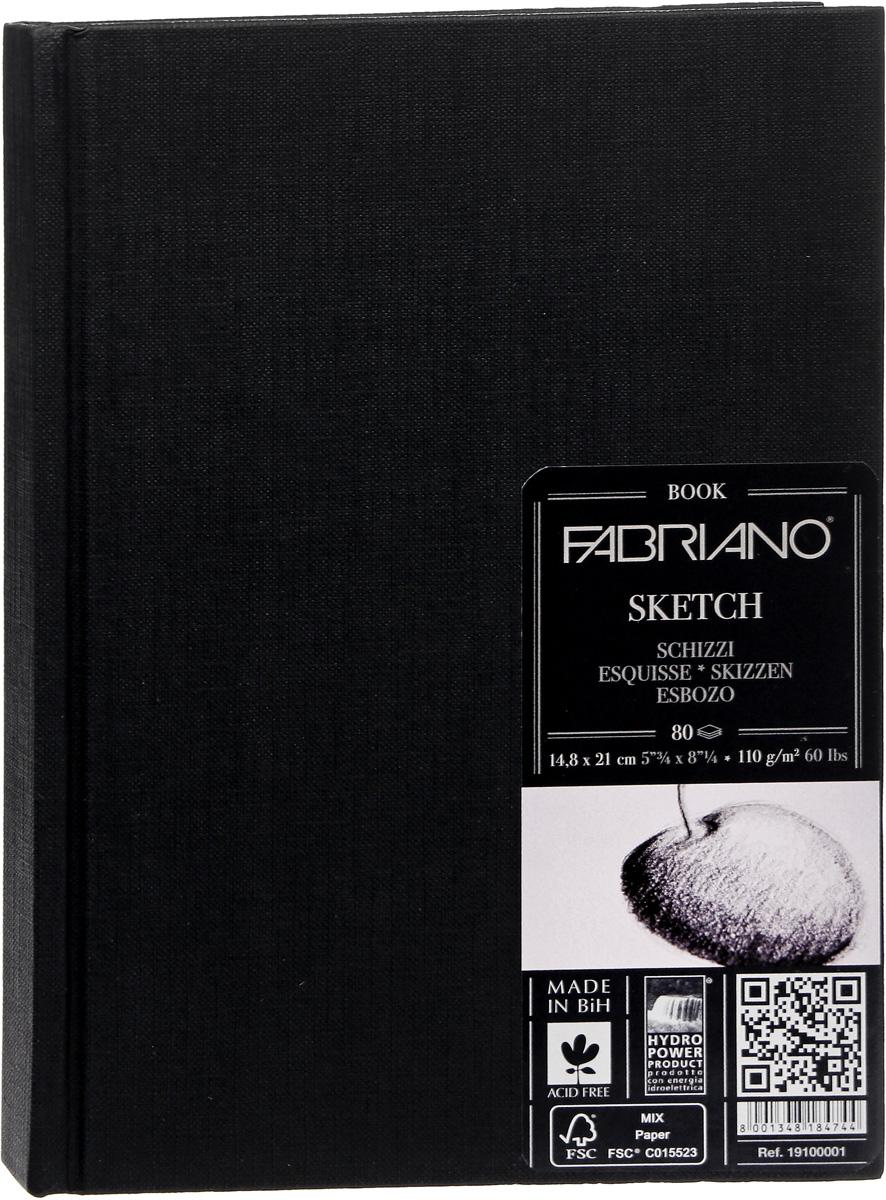 Fabriano Блокнот для зарисовок Sketchbook Портрет 80 листов формат A5 19100001 paris sketchbook