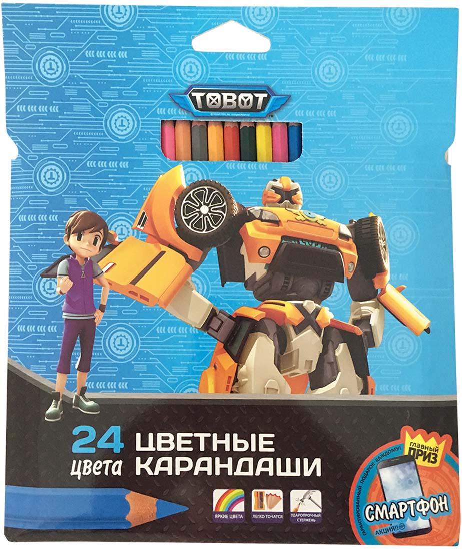 Tobot Карандаши цветные 24 цвета