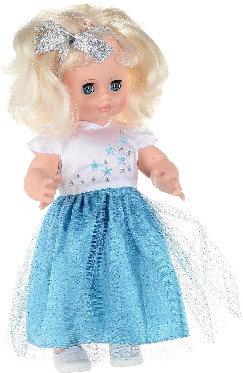 Весна Кукла озвученная Инна цвет одежды голубой белый блондинка весна весна кукла интерактивная милана 20 озвученная 70 см