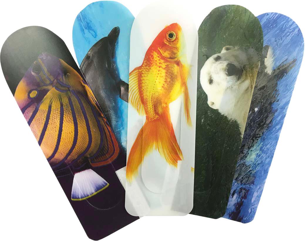 Подводный Мир Набор закладок серия 3 5 шт