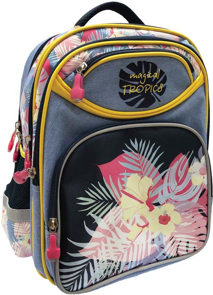 Limpopo Рюкзак детский Superior Magical Tropics цвет розовый, серый limpopo рюкзак детский junior superior moto