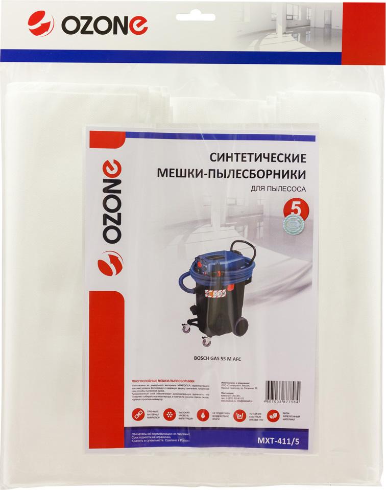 Ozone MXT-411/5 пылесборник для профессиональных пылесосов 5 шт