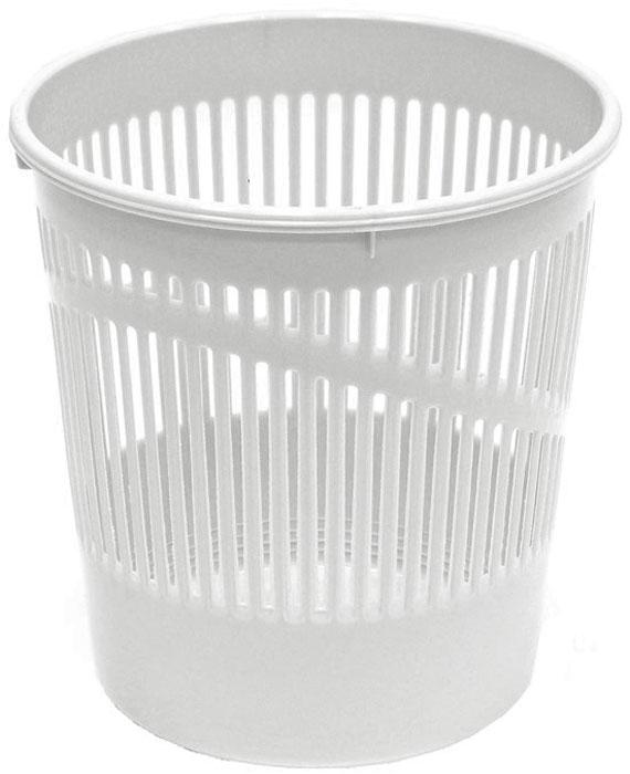 Корзина для бумаг Erich Krause, сетчатая, цвет: светло-серый, 12 литров. 3779 корзина для бумаг цельнолитая черная 18 литров