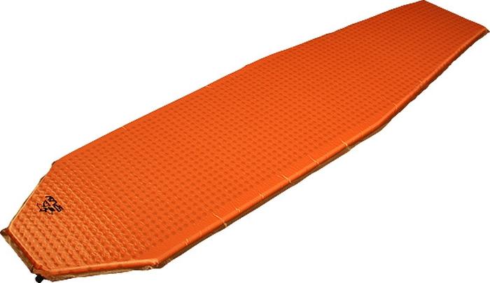 Коврик самонадувающийся Сплав Extreme Light 3.8, цвет: оранжевый, 183 x 51 x 3,8 см