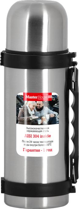 Термос Master House Vienna, цвет: серебристый, 0,75 л