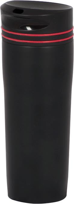 Термокружка Master House Innsbruck, цвет: черный, 0,38 л