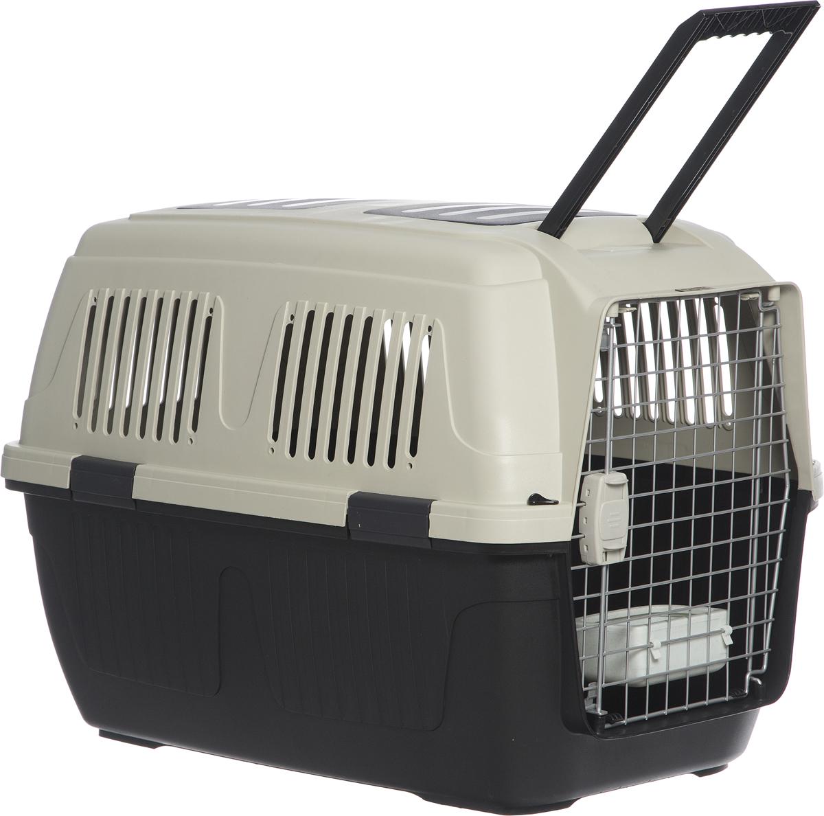 """Переноска для собак Triol """"Standard Large"""", цвет: черный, 820 x 570 x 600 мм"""