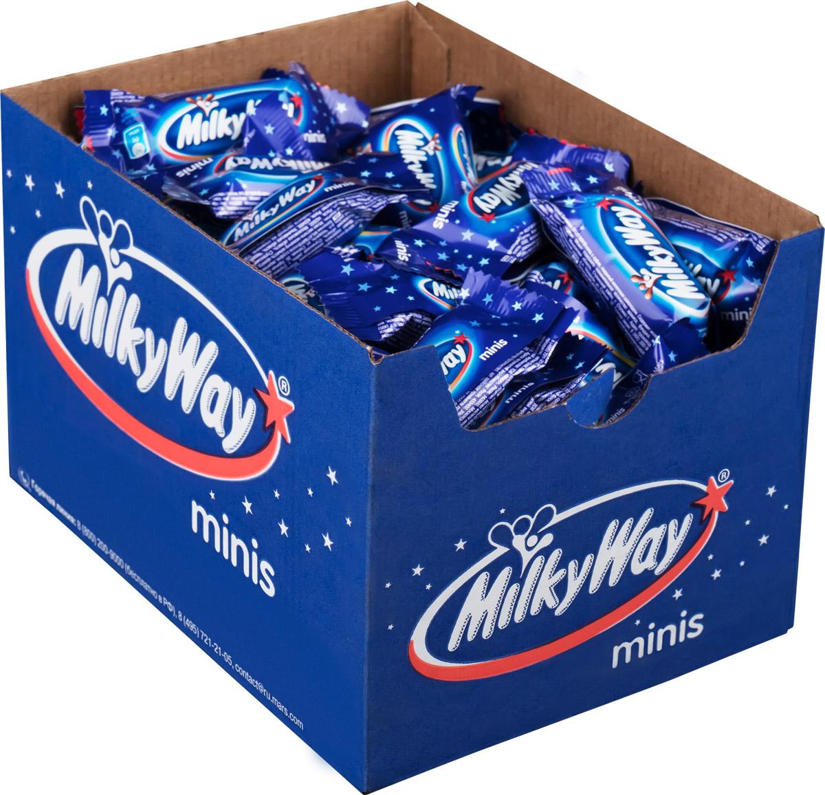 цены Milky Way minis шоколадный батончик, 1 кг
