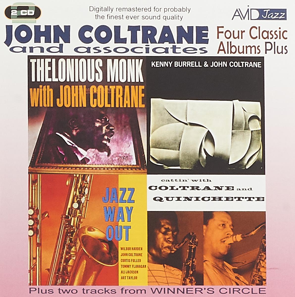 Джон Колтрейн John Coltrane. Four Classic Albums Plus (2 CD) джон колтрейн john coltrane giant steps the best of the early years 10 cd