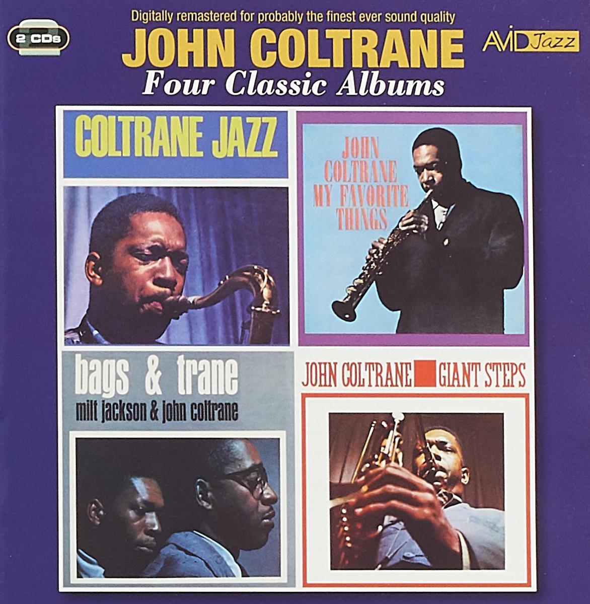 Джон Колтрейн John Coltrane. Four Classic Albums (2 CD) джон колтрейн john coltrane giant steps the best of the early years 10 cd