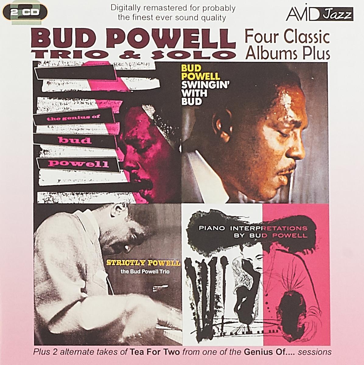 Бад Пауэлл Bud Powell. Four Classic Albums Plus (2 CD) кози пауэлл cozy powell tilt