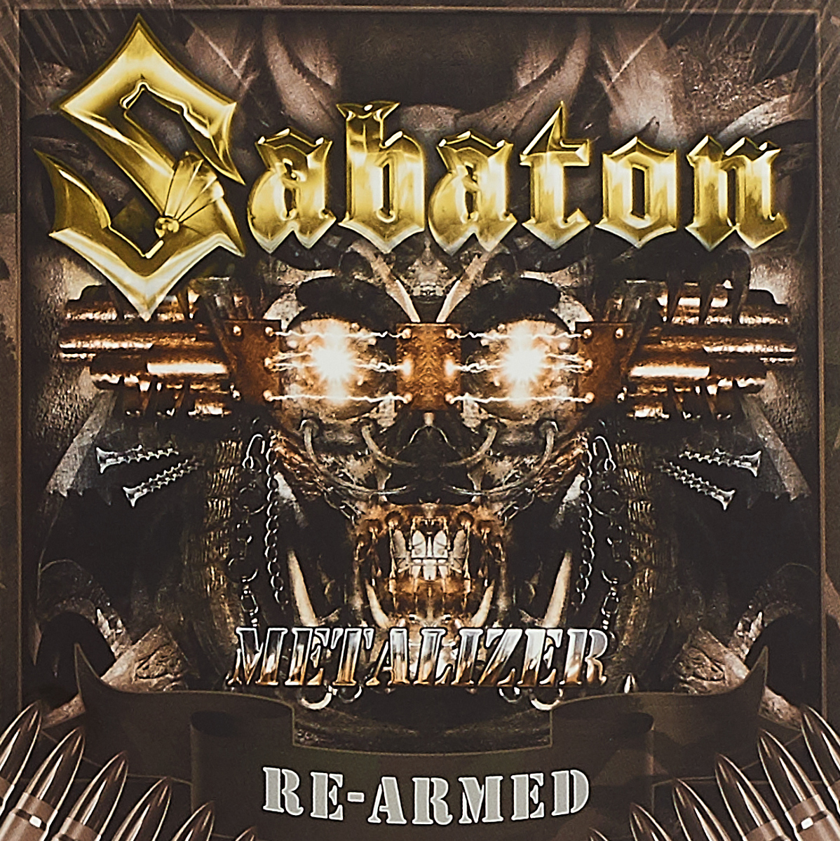 Sabaton Sabaton. Metalizer. Re-Armed (2 CD) dragonforce dragonforce re powered within cd