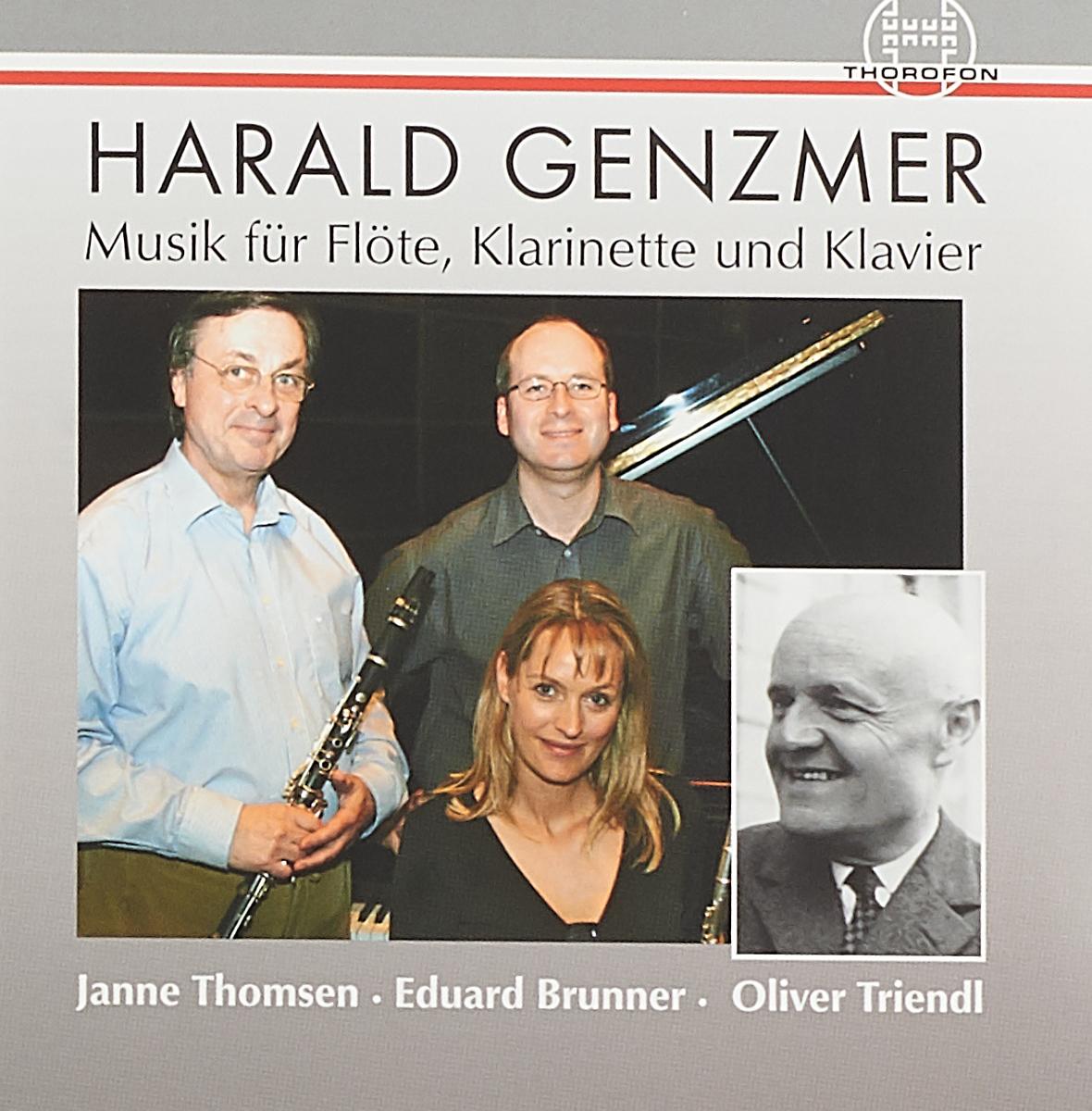 Harald Genzmer. Musik Fur Flote, Klarinette und Klavier josef johann michel 52 praludien und fugen funfstimmig fur klavier und querflote teil b nr 27 52