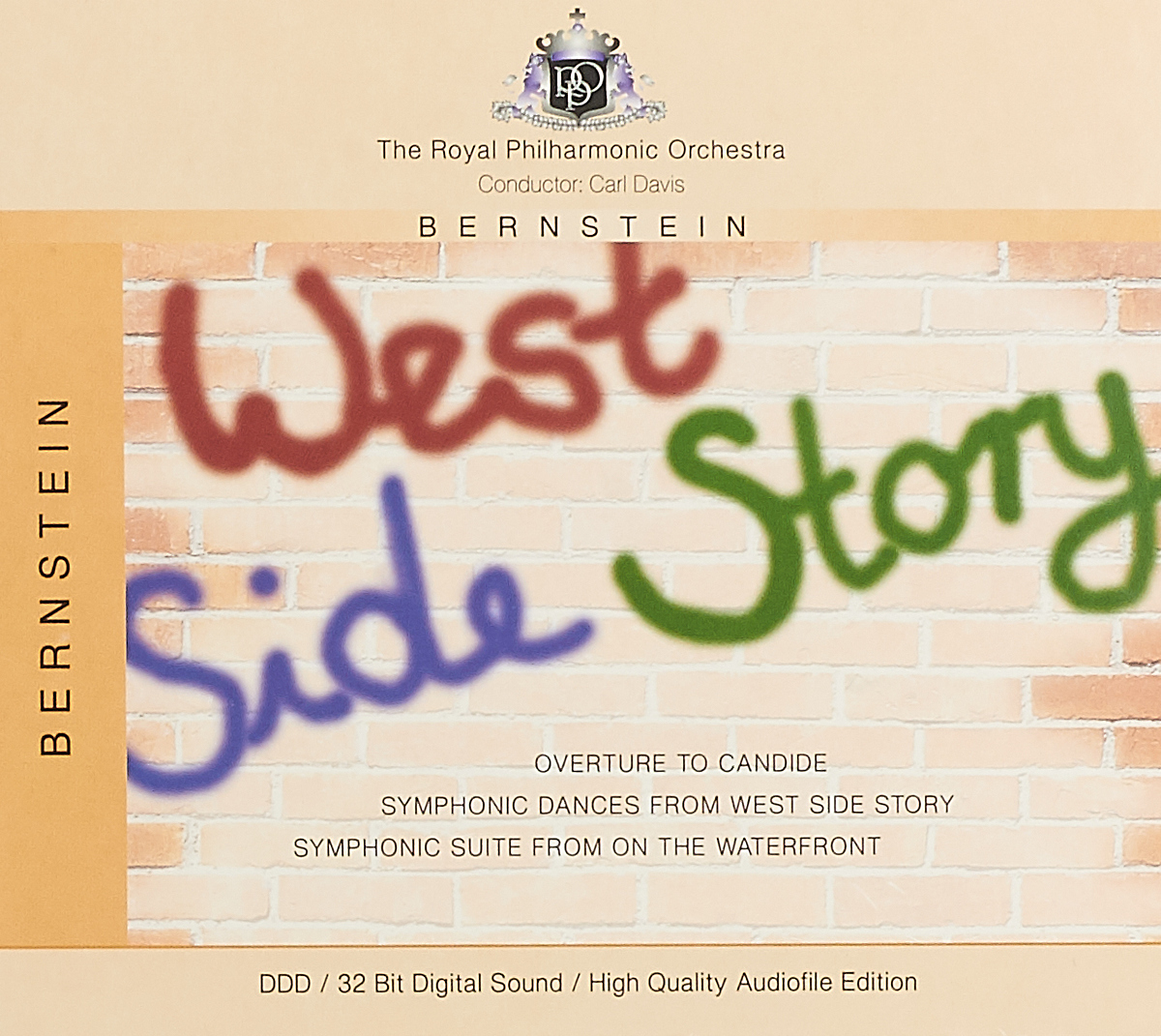 The Royal Philharmonic Orchestra The Royal Philharmonic Orchestra. Bernstein. West Side Story стоимость