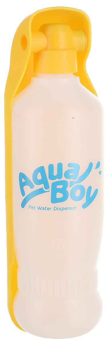 Поилка для собак Savic Aqua Boy, цвет: в ассортименте, 550 мл поилка для птиц savic fountain l внешняя 2шт