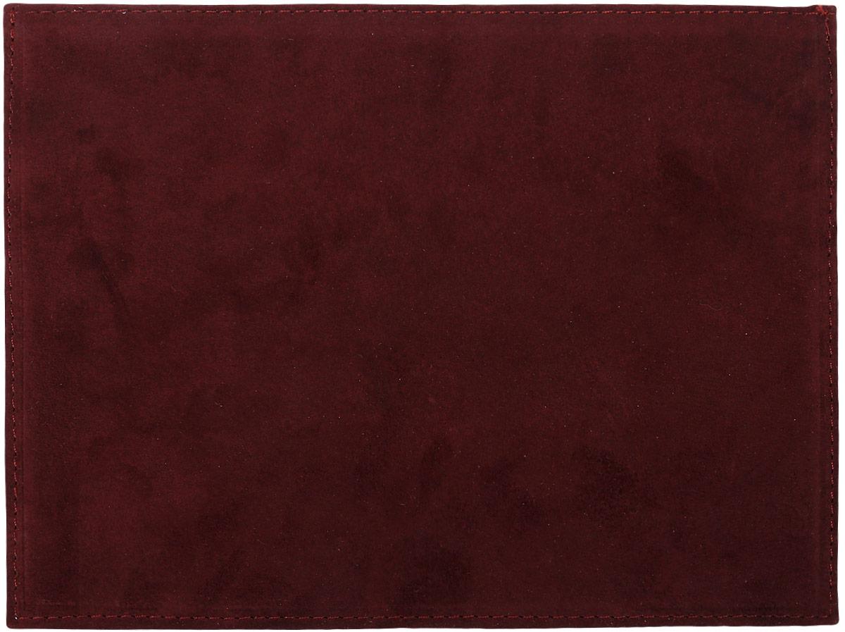 Обложка для полиса медицинского страхования Family Treasures, цвет: бордовый. 2712