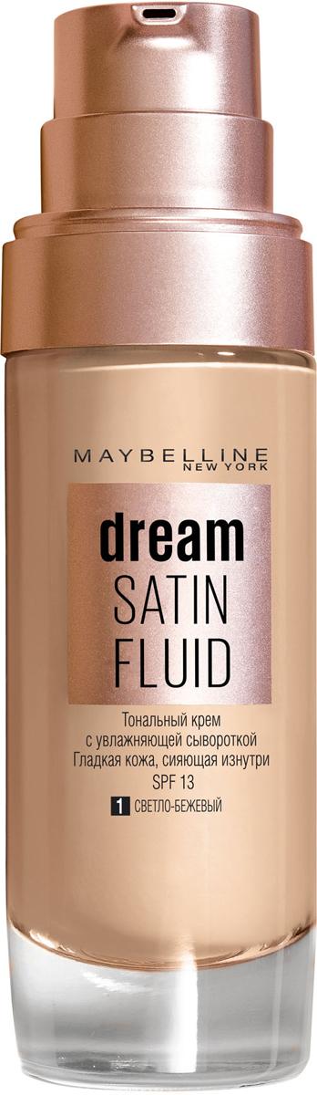 Maybelline New York Тональный крем-флюид для лица