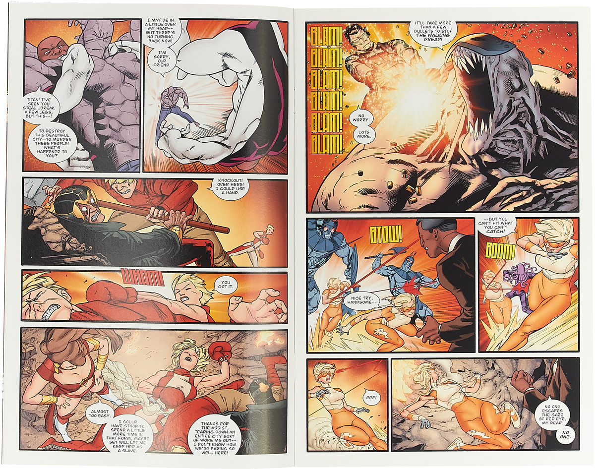 Guarding The Globe #6 As the hit miniseries comes to it's conclusion, The Order finally...