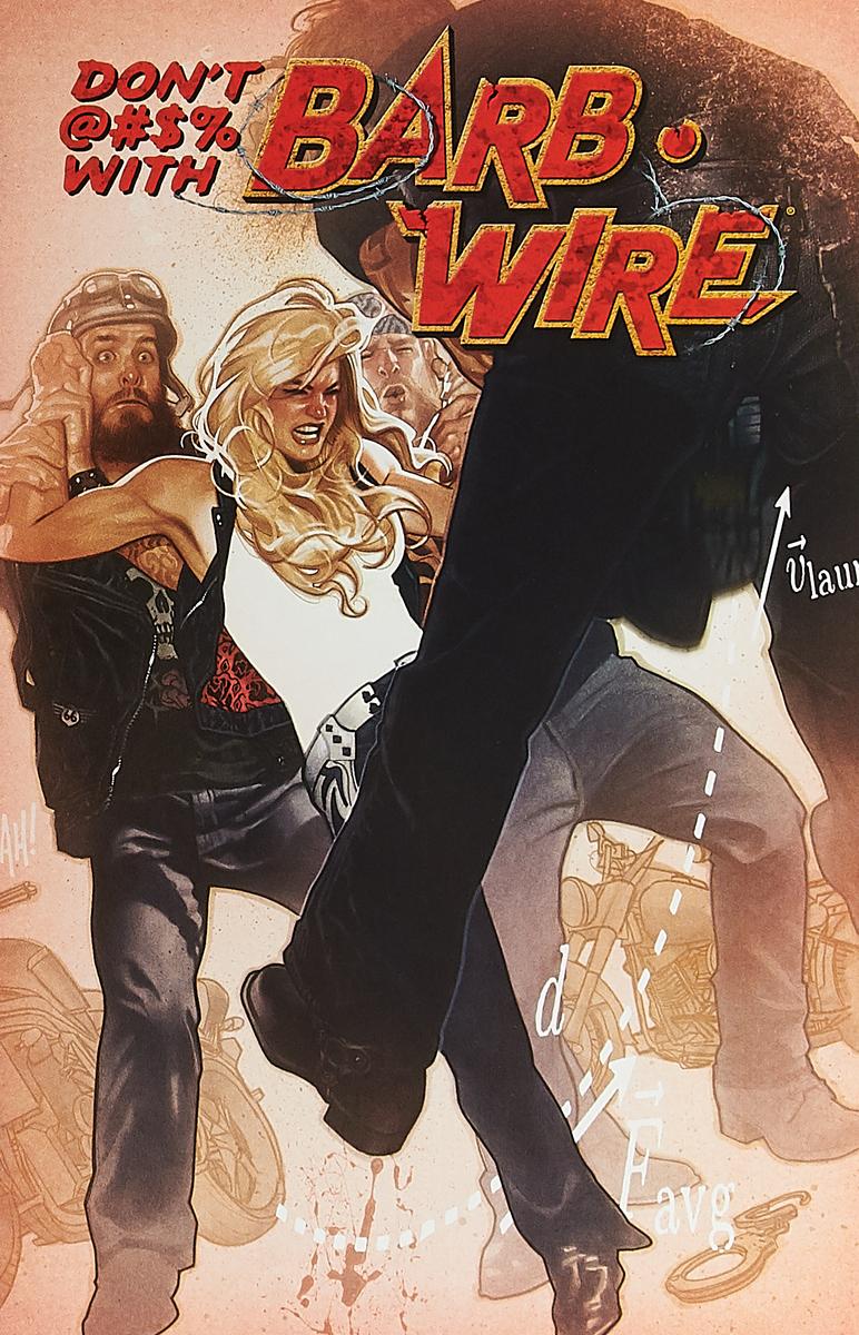 Randy Stradley, Chris Warner Barb Wire #1b