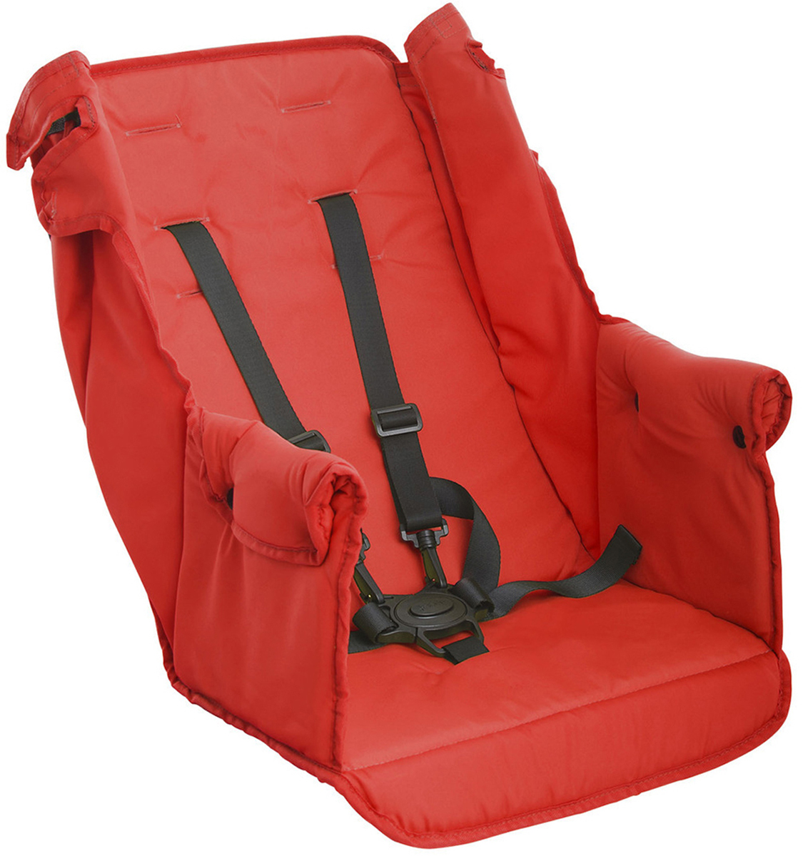 коляски для двойни и погодок Аксессуар для колясок Joovy Дополнительное сиденье Too Seat для коляски Caboose цвет: красный