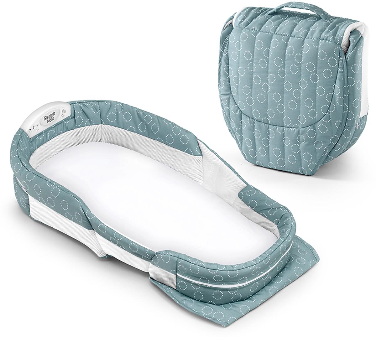 Baby Delight Дополнительная кровать ХL цвет серо-зеленый