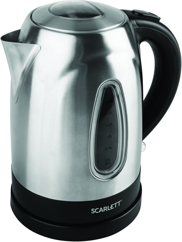 Электрический чайник Scarlett SC-EK21S63, Silver